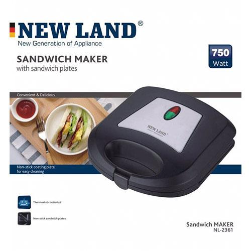 ساندویچساز نیولند مدل NL-2361